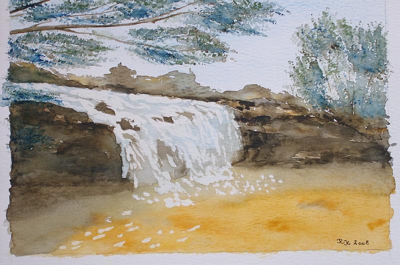 2-Vandfald-i-Blue-Muntin-Nationalpark-Australien