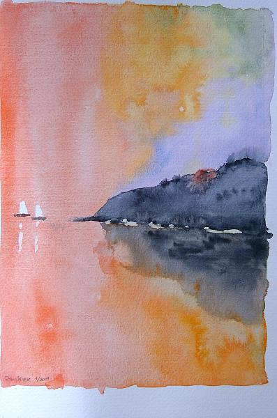 De-roede-sejlskibe