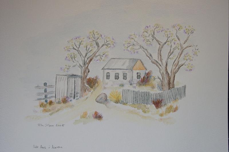Lille-hus-i-haven