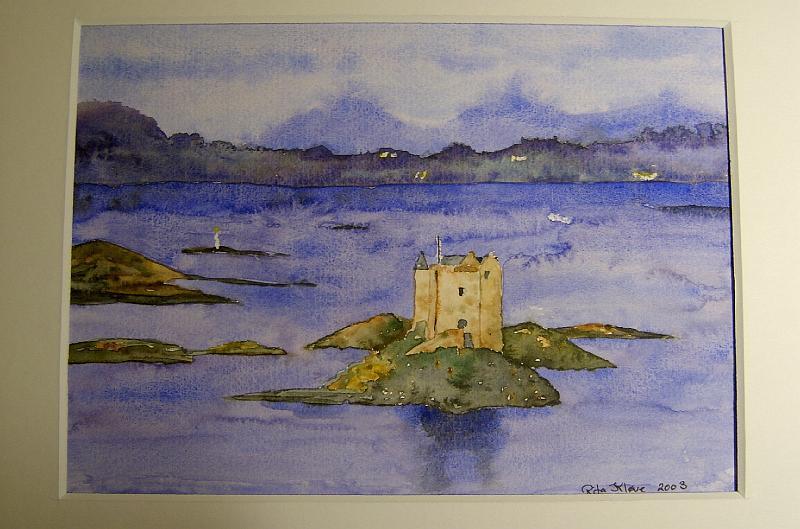 Stalker-Castle-Skotland